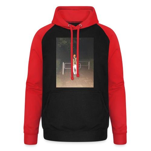 Jay Dane - Unisex baseball hoodie