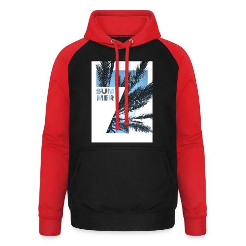 Summertime - Unisex baseball hoodie