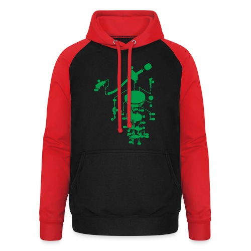tonearm05 - Unisex baseball hoodie