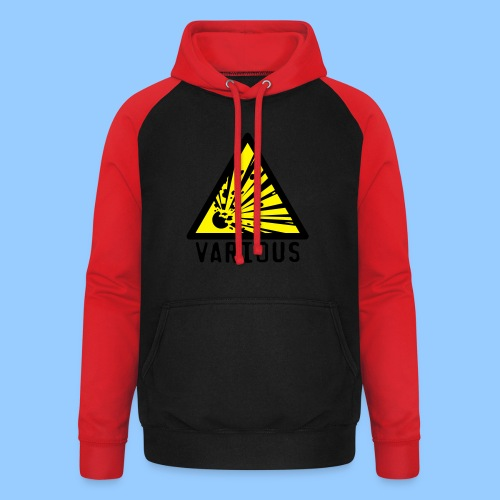 VariousExplosions Triangle (2 colour) - Unisex Baseball Hoodie