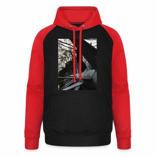 Illusion - Unisex baseball hoodie