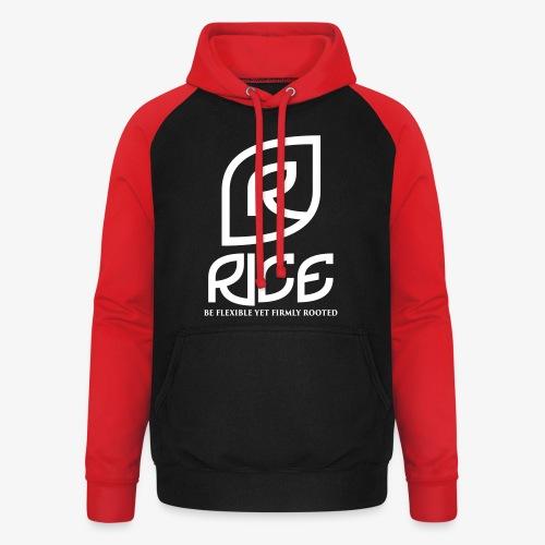 rice vector - Unisex baseball hoodie