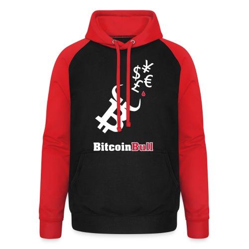 BitcoinBull - Sudadera con capucha de béisbol unisex