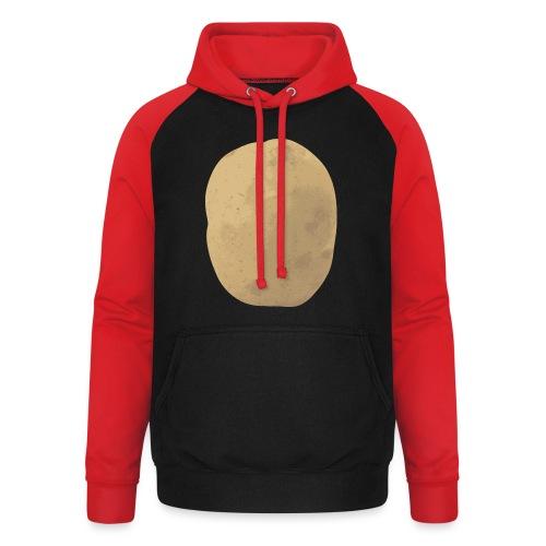 Aardappel - Unisex baseball hoodie