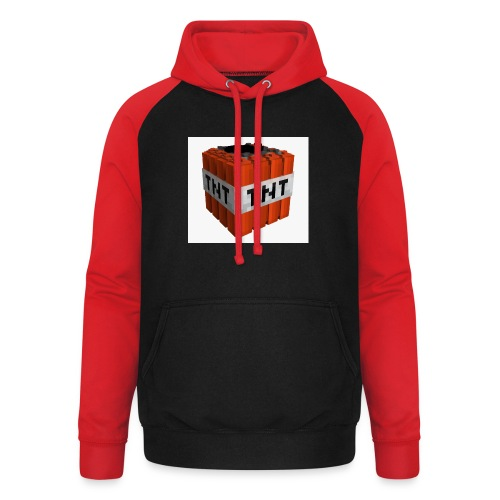 tnt block - Unisex baseball hoodie