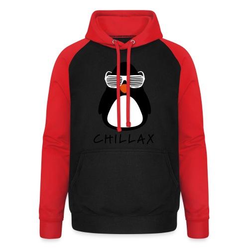 Chillax - Unisex baseball hoodie