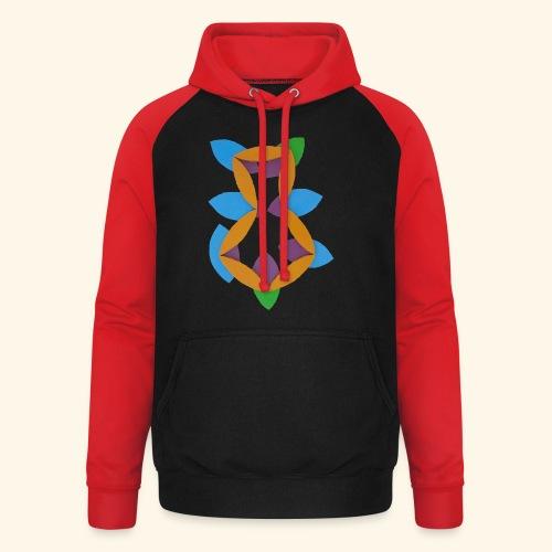 oranjeblanjebleu - Unisex baseball hoodie