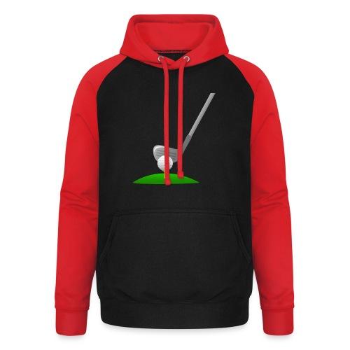 Golf Ball PNG - Sudadera con capucha de béisbol unisex