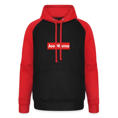 Don't Ask Who Joe Is / Joe Mama Meme - Unisex Baseball Hoodie