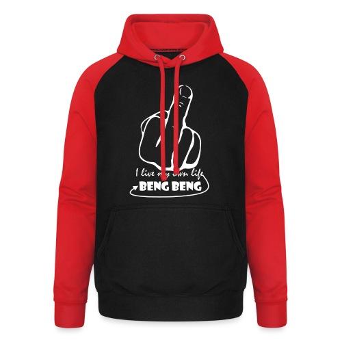 ontwerpwit png - Unisex baseball hoodie