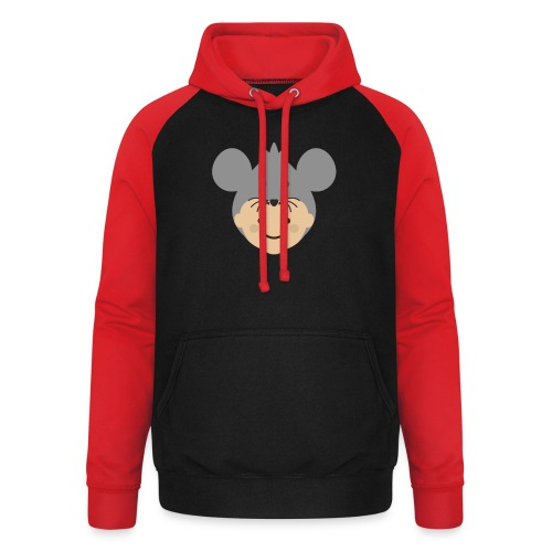 Mr Mousey | Ibbleobble - Unisex Baseball Hoodie
