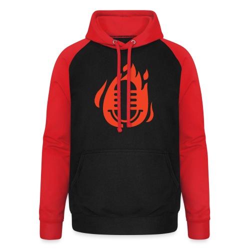 Fire Mikro Design - Unisex Baseball Hoodie