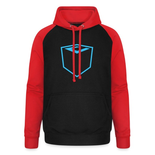 Ultimate Gaming Community Cube - Unisex Baseball Hoodie