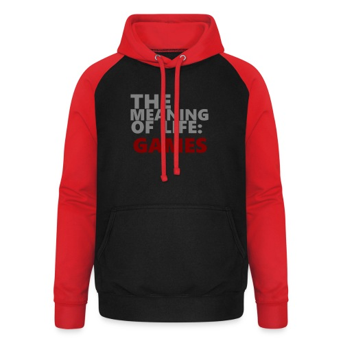 T-Shirt The Meaning of Life - Unisex baseball hoodie