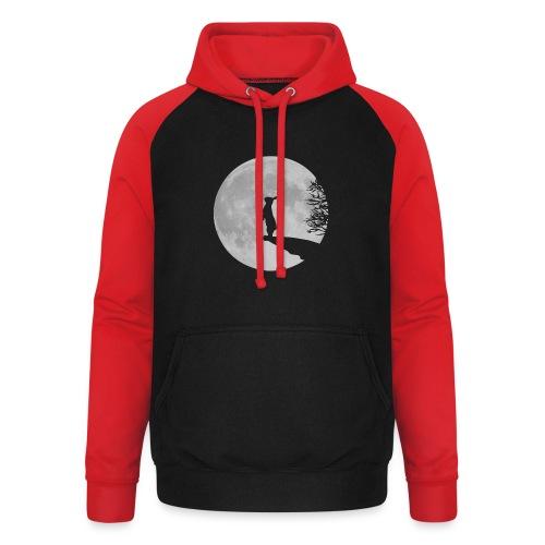 rabbit_wolf-png - Unisex Baseball Hoodie