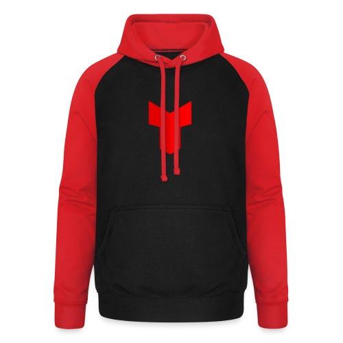 redcross-png - Unisex baseball hoodie
