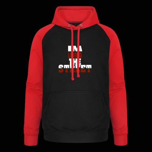 IMLOVINGTHESTREET - Unisex baseball hoodie