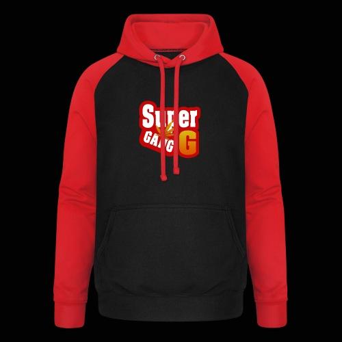 SuperG-Gang - Unisex baseball hoodie