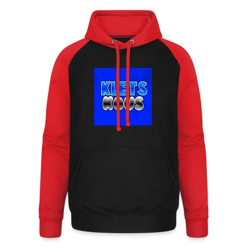 Kletskous Muismat - Unisex baseball hoodie