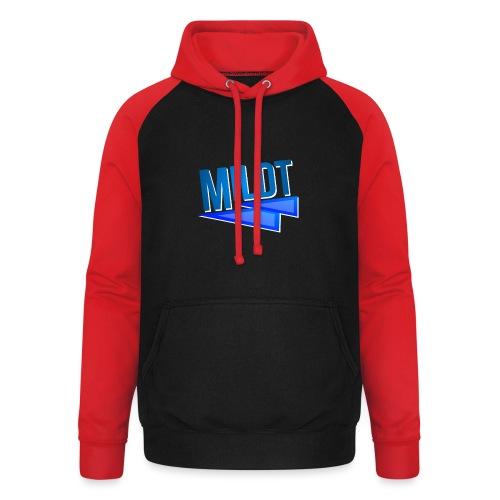 MILDT Normale Mannen Shirt - Unisex baseball hoodie