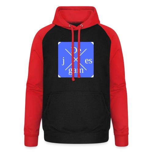 de j games kleren - Unisex baseball hoodie