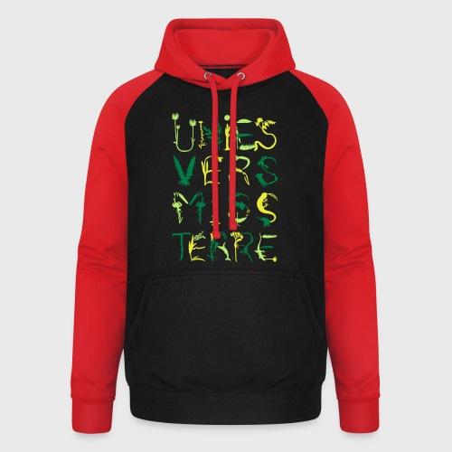 Univers Mystère - Sweat-shirt baseball unisexe