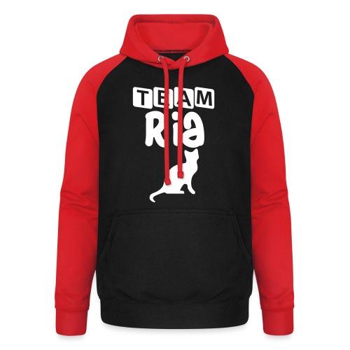 Team Ria - Unisex Baseball Hoodie