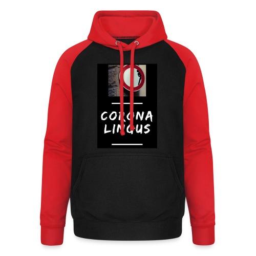 Corona Lingus - Sweat-shirt baseball unisexe