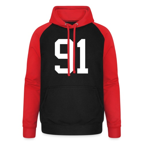 91 SPITZER Kevin - Unisex Baseball Hoodie