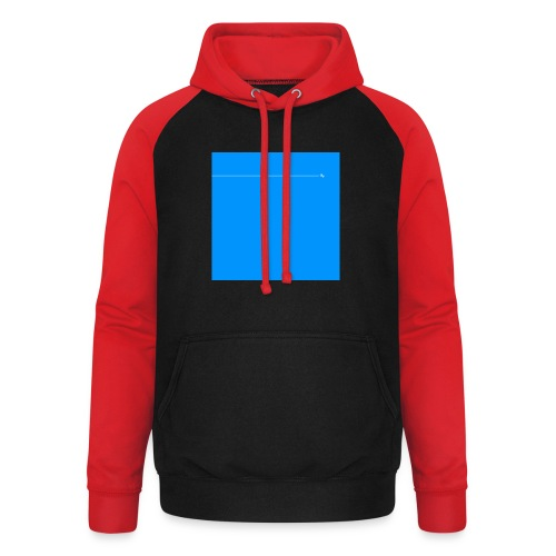 sklyline blue version - Sweat-shirt baseball unisexe