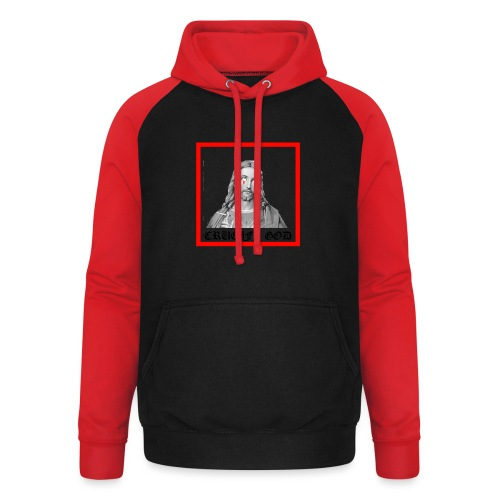 Crucify God | Sad Jesus - Unisex baseball-huppari