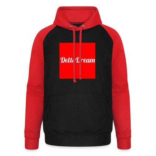 DeltaDream- Original Red - Sweat-shirt baseball unisexe