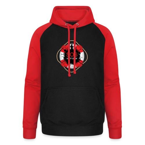 SOS NOTP CREW - Unisex baseball hoodie