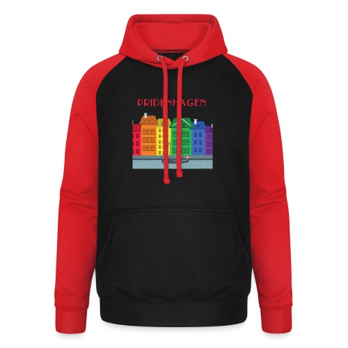 PRIDENHAGEN NYHAVN T-SHIRT - Unisex baseball hoodie