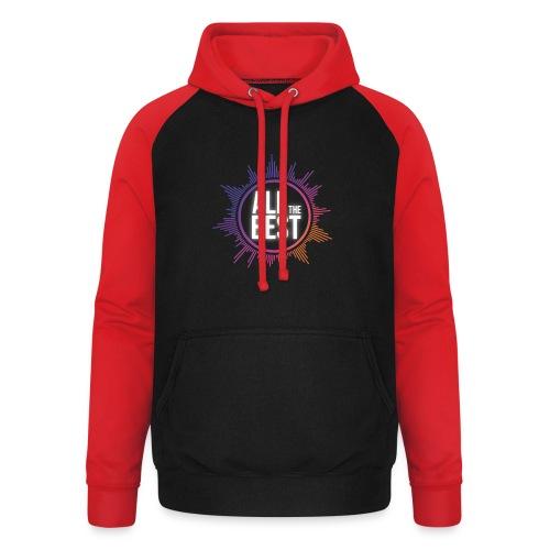 All The Best Logo - Unisex Baseball Hoodie