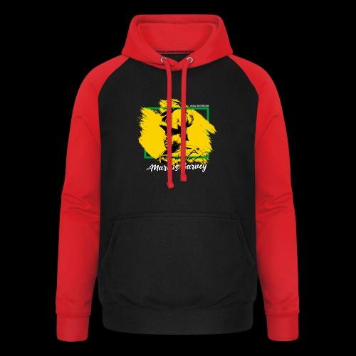 MARCUS GARVEY by Reggae-Clothing.com - Unisex Baseball Hoodie