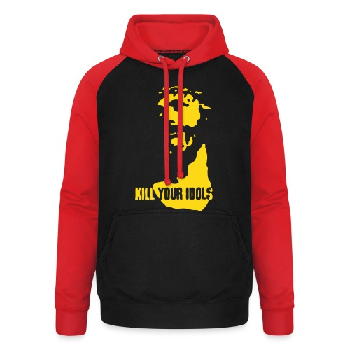 Kill your idols - Unisex Baseball Hoodie