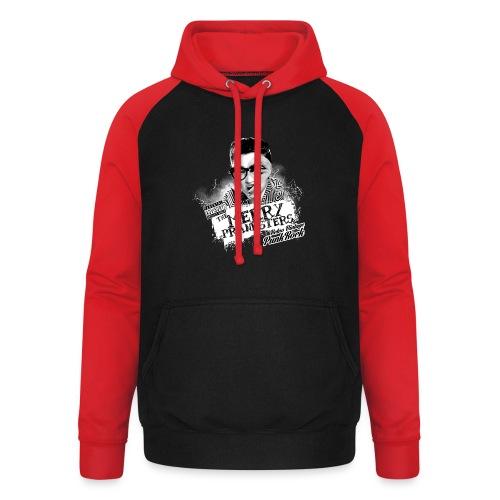 The Merry Pranksters Standard - Black T-Shirt - Unisex Baseball Hoodie