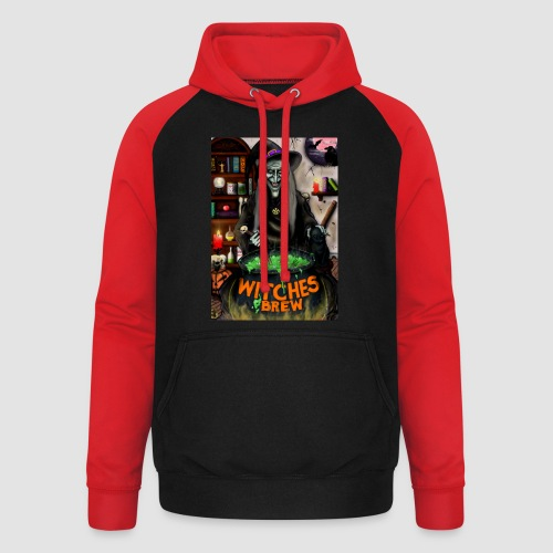 The Witch - Unisex Baseball Hoodie