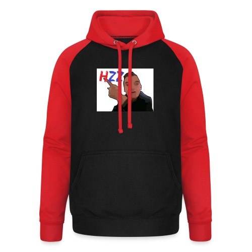 hetzeizo t-shirt Kind - Unisex baseball hoodie