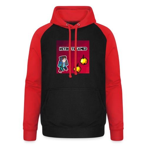 Logo kleding - Unisex baseball hoodie