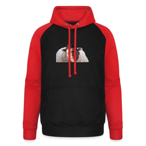 TVS het Armo Schaap en SHIT - Unisex baseball hoodie