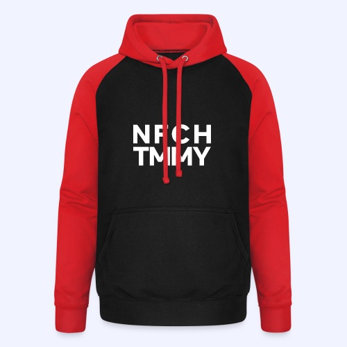 Einfach Tommy / NFCHTMMY / White Font - Unisex Baseball Hoodie
