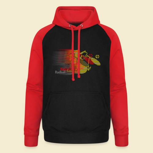 Radball | Earthquake Germany - Unisex Baseball Hoodie