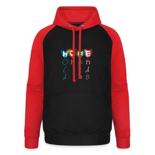 HOPE : Hold On Pain Ends - Unisex baseball hoodie