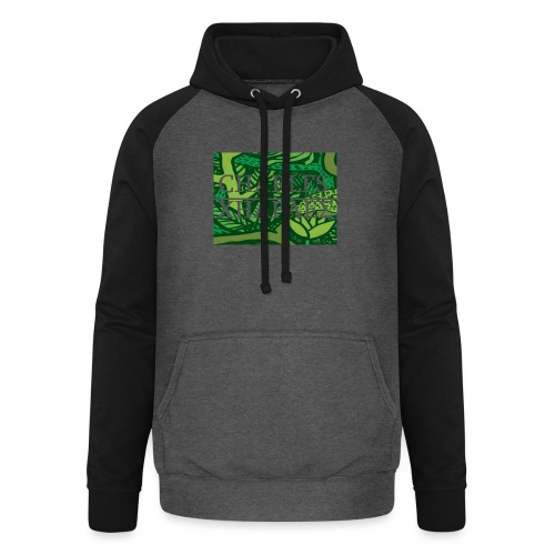 CHARLES CHARLES JUNGLE PRINT - LIMITED EDITION - Unisex Baseball Hoodie