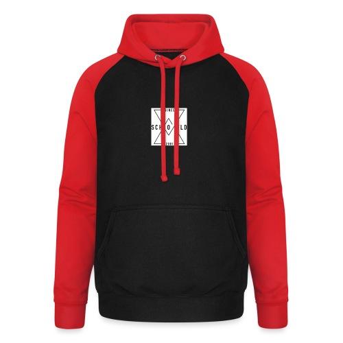 Ben Scho YT box logo - Unisex Baseball Hoodie