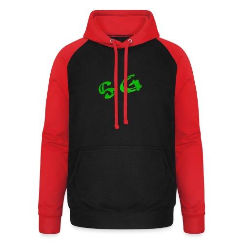 StreamGangster - Unisex baseball hoodie