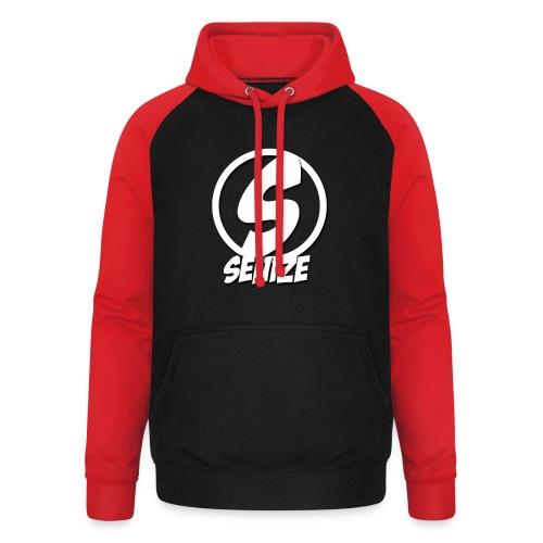 Senize voor vrouwen - Unisex baseball hoodie