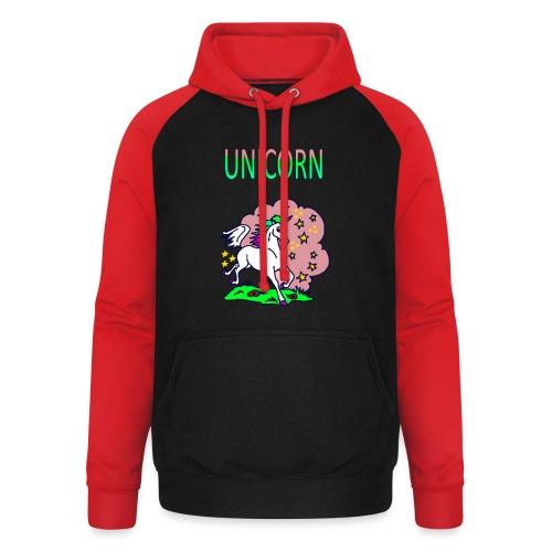 Einhorn unicorn - Unisex Baseball Hoodie
